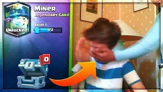kid gets slapped after receiving the wrong legendary in Clash Royale..