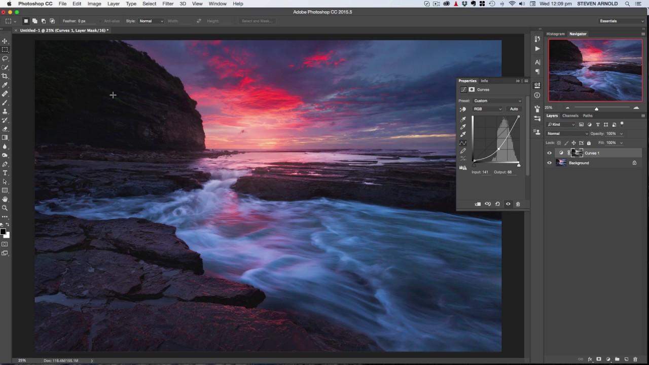 Photoshop tutorial simple luminosity masks youtube.
