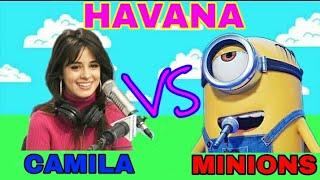 Havana Ft. Minions | Camila Cabello | Young Thug