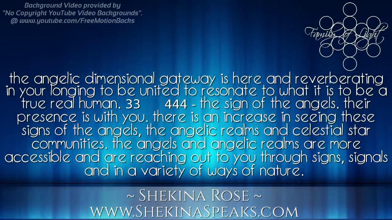 Shekina Rose Blue Ray ~ Empath Starbeing Angelic Gateway Dimensional Shift  444 Thursday 8-4-16