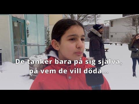 Lyssna på barnen i Rinkeby om dödsskjutningarna.