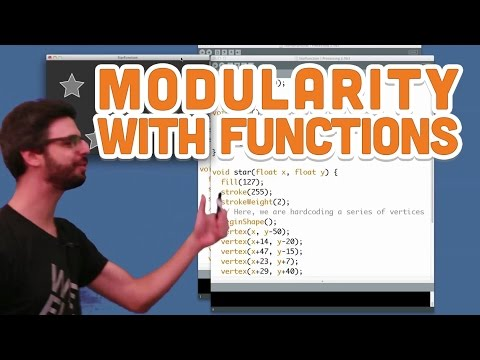 7.3: Modularity with Functions - Processing Tutorial