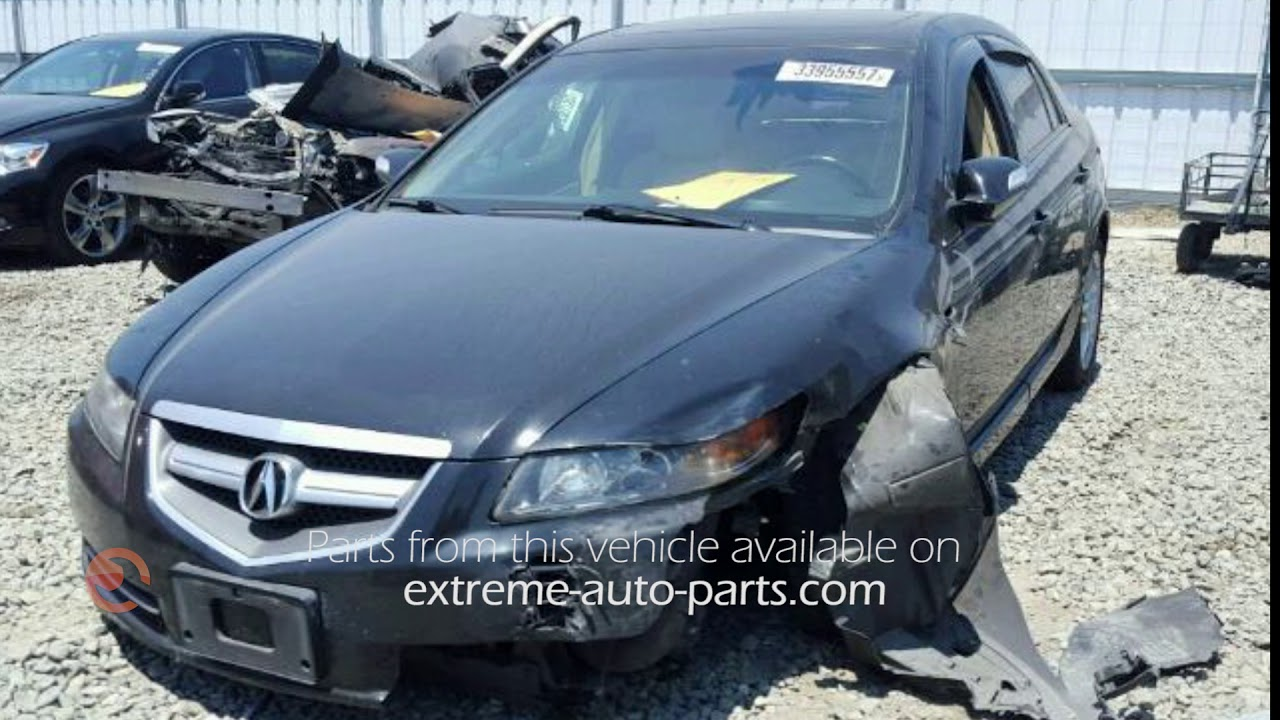 Acura TL Parting Out AA YouTube - Acura car parts