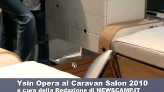 Carrello tenda Ysin Opera al Caravan Salon 2010