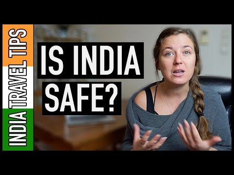 IS INDIA SAFE TO TRAVEL ALONE AS A WOMAN!? | India Travel Tips