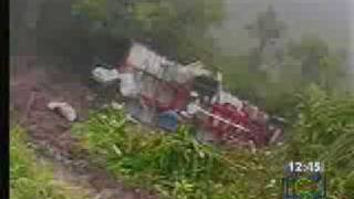 Carretera (trocha) de Mocoa, Putumayo a Pasto, Nariño