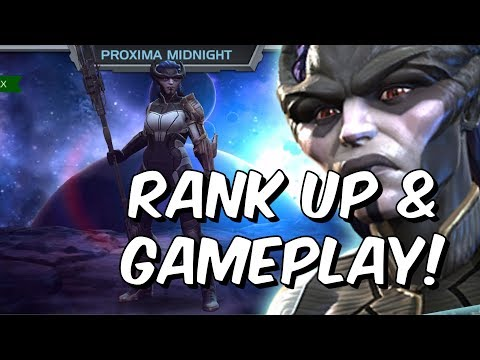 Proxima Midnight Rank Up, Abilities & Gameplay - Marvel Contest Of Champions