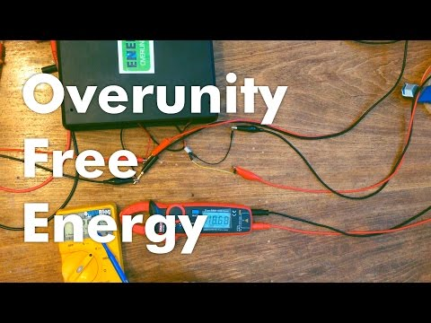 Overunity Achieved! FREE ENERGY CONFIRMED!  Free Energy Generator!