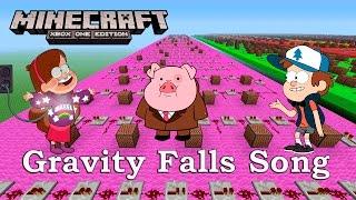 Gravity Falls Opening Theme - Minecraft XBOX NoteBlock Intro Song Gravity Falls Disney