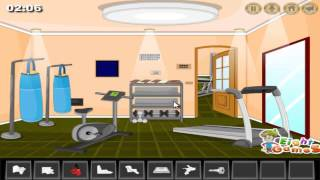 Gym Room Escape (Walkthrough)
