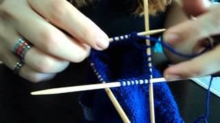Πλέκουμε με καλτσοβελόνες! (double pointed needles)