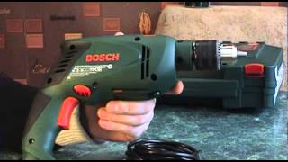 Обзор ударной дрели Bosch PSB 530 RE