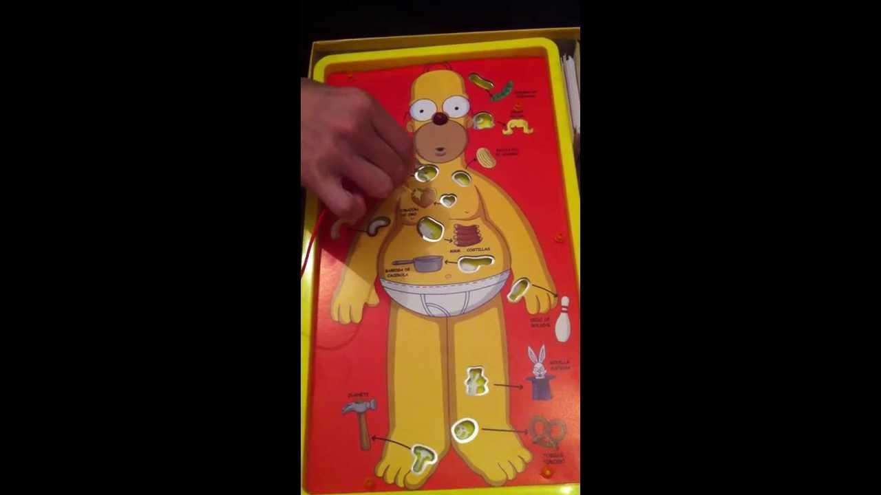 Operando A Homero Juego De Mesa