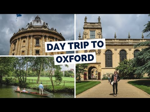 15 Things to do in Oxford Travel Guide | Day Trip from Londo