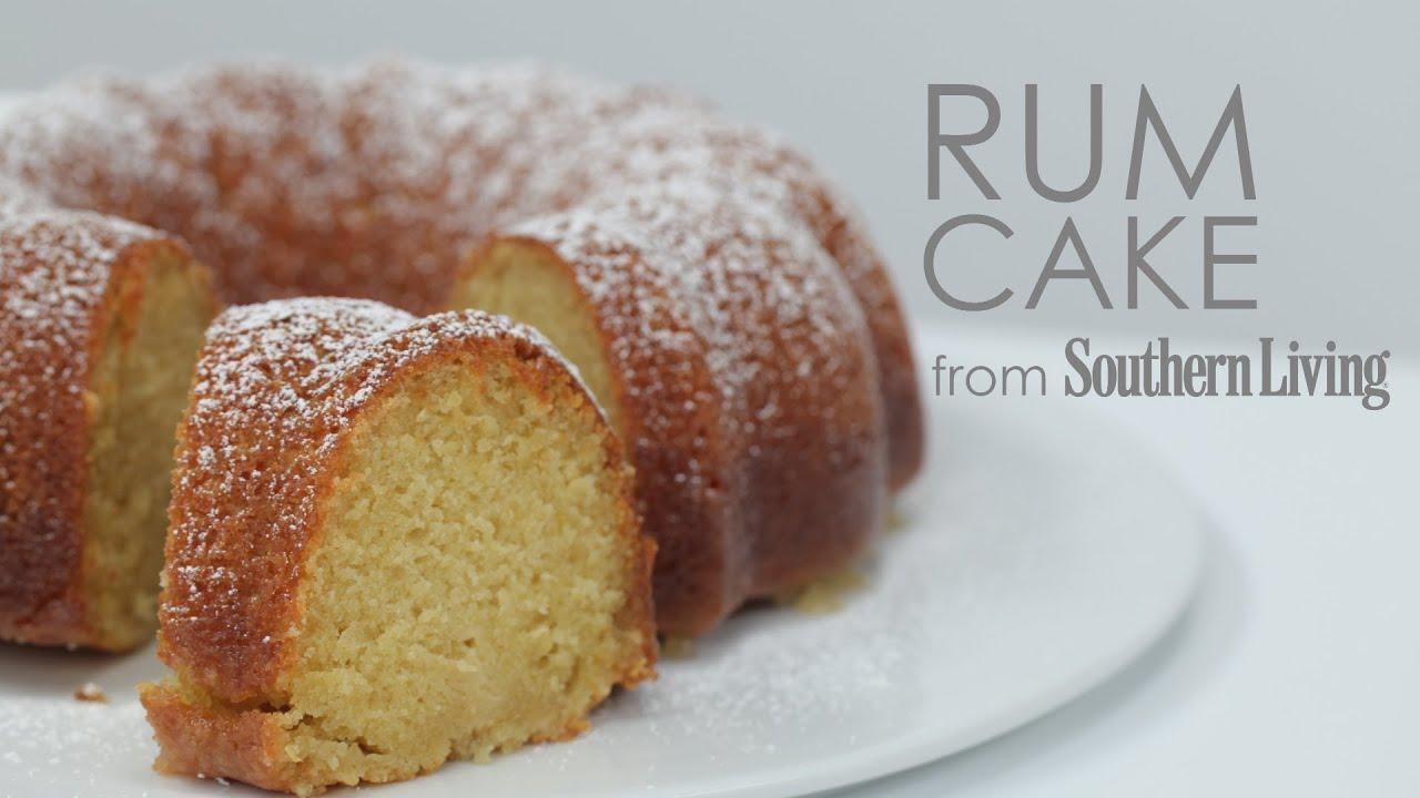 Make Homemade Rum Cake Recipe