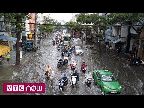 TP.HCM và trận mưa lớn nhất trong 40 năm