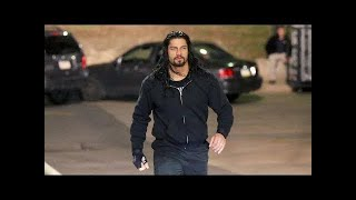 WWE Roman Reigns Attacks HHH In Car, 28th October 2018 Replay HD