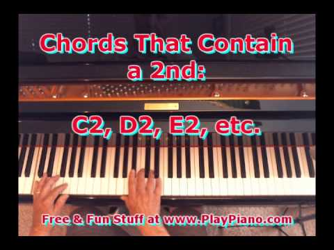 Chords Containing The 2nd Scale Degree Youtube
