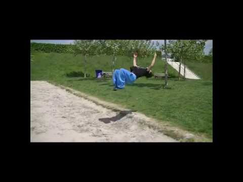 Albert (13 years old ) FreeRunning