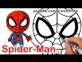 How to Draw Spider-Man Easy | Marvel