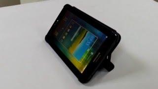 ЖИВОЙ ОБЗОР: аккуратный чехол Book Cover Samsung Tab 3 lite T110 T111 T113 T116 вместе с планшетом