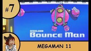 Megaman 11 part 7 - Bounce man