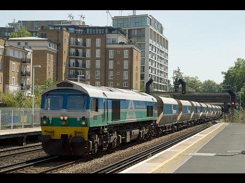British Rail - Aggregate Trains at Kensington (Olympia) London May