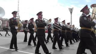 Оркестр Ростовского-на-Дону гарнизона. 9 мая 2016 года