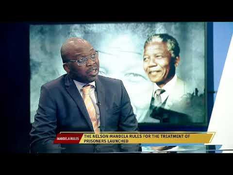 Nelson Mandela statue unveiled.