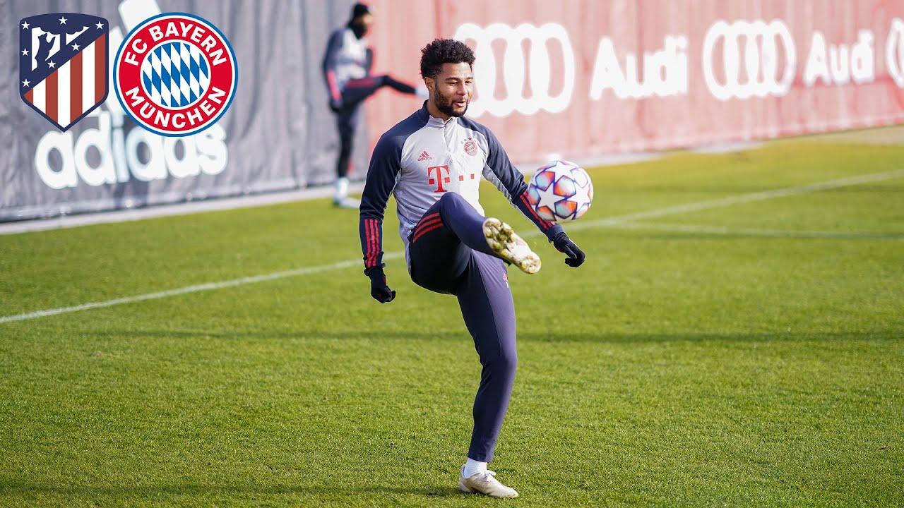 LIVE 🔴 FC Bayern Abschlusstraining vor Atlético Madrid