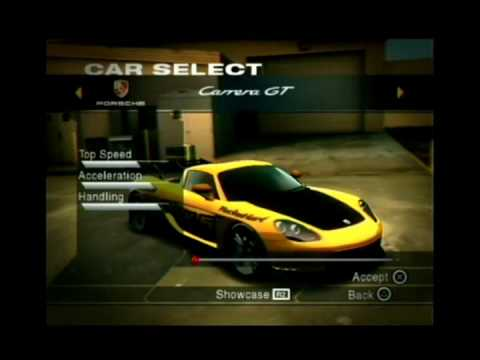 performance tuning porsche carrera gt 508 kmh nfs undercover ps2 youtube. Black Bedroom Furniture Sets. Home Design Ideas