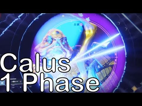 Calus 1 Phase Destiny 2 Raid Boss