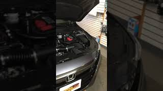 Second 2018 Honda Accord subwoofer install