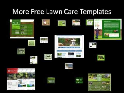 Free Lawn Care Website Templates - YouTube