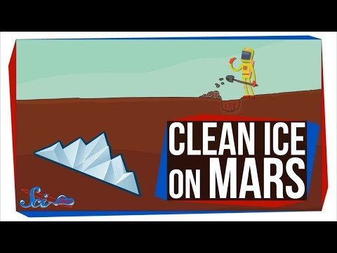 There's Clean (Frozen) Water on Mars!