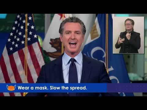 Governor Newsom California COVID-19 Update: December 7, 2020