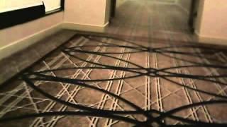Drone Flying in Hallway