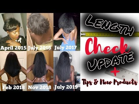 My Hair is Growing! Length Check Update + Tips & New Products