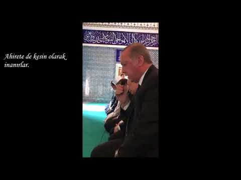 Recep Tayyip Erdoğan-Elif,Lam,Mim
