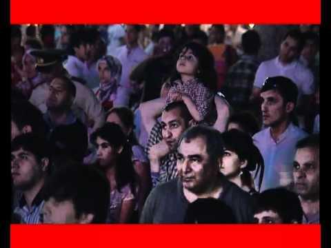 """Step In!"" Flashmob   Fountains Square, Baku   5000 people"