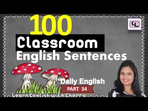 How To Talk In English With Students - Daily English Speaking -  PART 34 - Learn English In Hindi