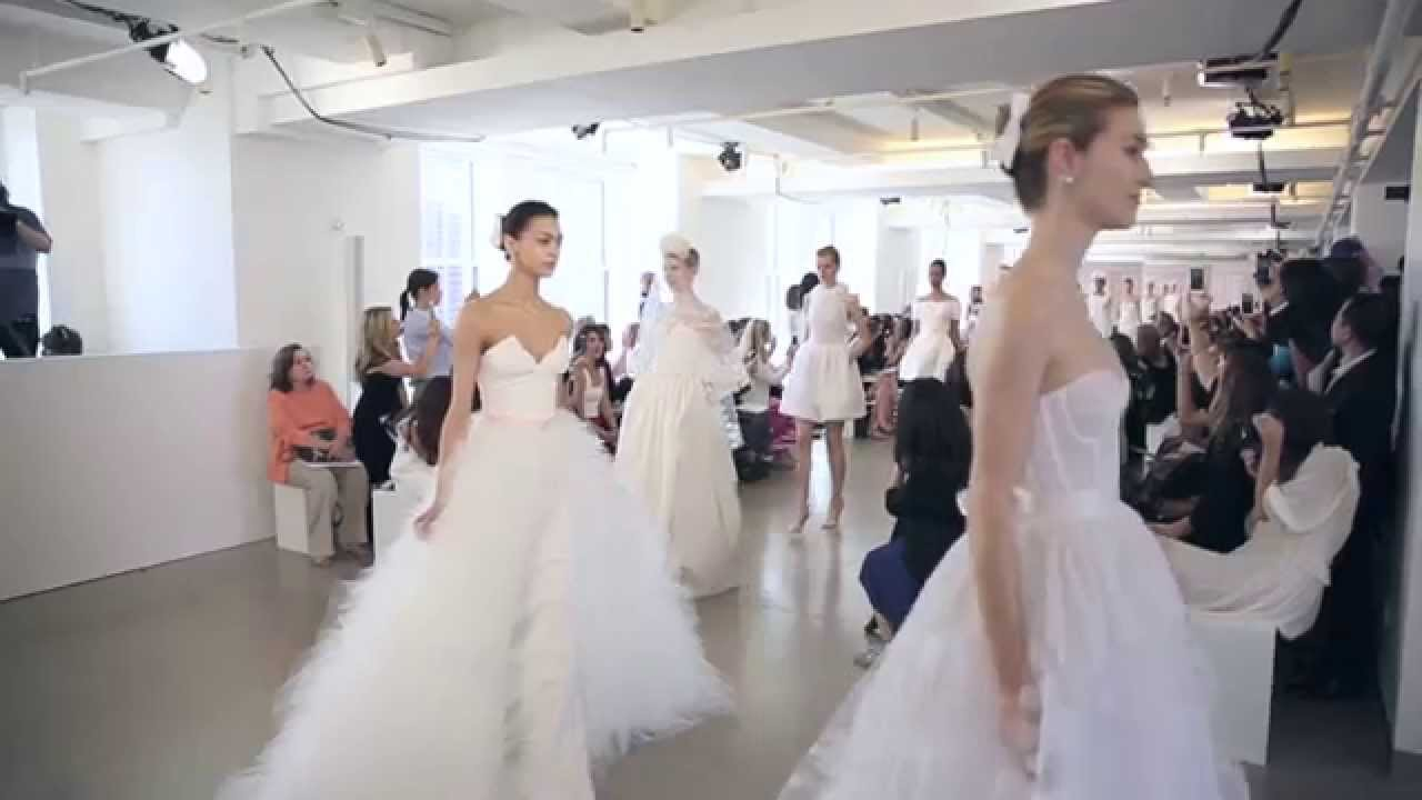 Behind-the-Scenes: Oscar de la Renta Spring 2016 Bridal Show