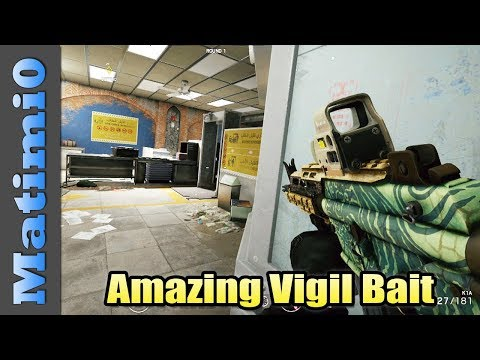Amazing Vigil Bait - Rainbow Six Siege
