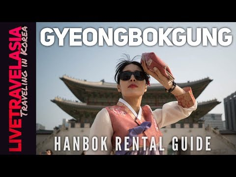 #26 Hanbok Rental for Gyeongbokgung Palace at Bukchon Hanok Village Guide in 4K Seoul, Korea