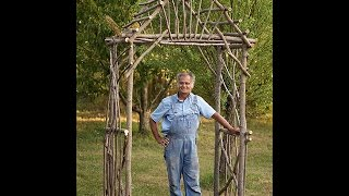 How To Make A Diy Rustic Pergola