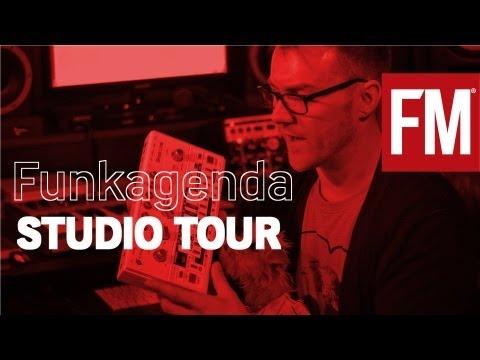 Funkagenda Studio Tour With Future Music