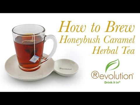 Revolution Honeybush Caramel Herbal Tea