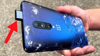 OnePlus 7 Pro POP UP CAMERA Durability Drop Test! Will It Survive?