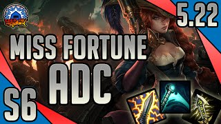 League of Legends - Captain Fortune Miss Fortune ADC - Full Game Commentary