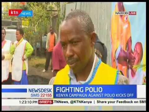 Health Ministry kicks off  anti-polio campaign to mitigate Type-2 polio in Nairobi